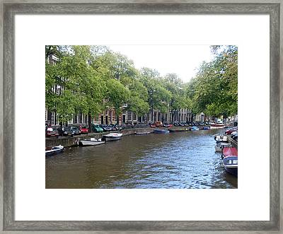 Winding Way Framed Print by Mike Podhorzer