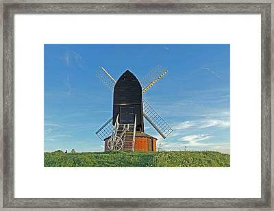 Windmill At Brill Framed Print by Tony Murtagh