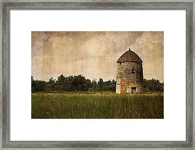 Windmill Framed Print by Lesley Rigg