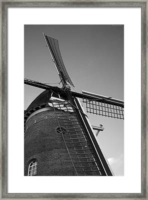 Windmill Framed Print by Miguel Winterpacht