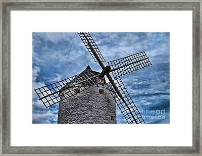 Windmill Of La Mancha Framed Print