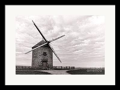 Grain Mill Framed Prints