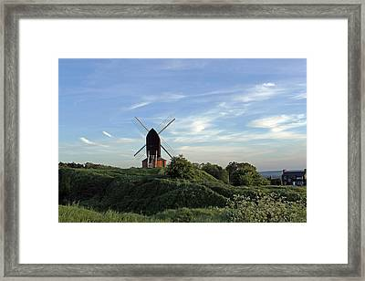 Windmill On Brill Common Framed Print