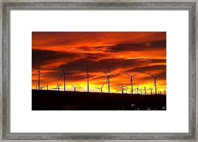 Shades Of Light  Framed Print by Chris Tarpening