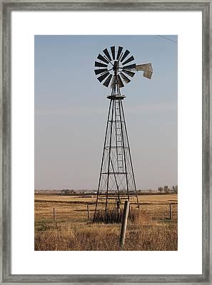 Windmill Framed Print by Susan Copley