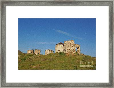 Windmills Framed Print by Nur Roy