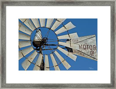 Windmotor Framed Print