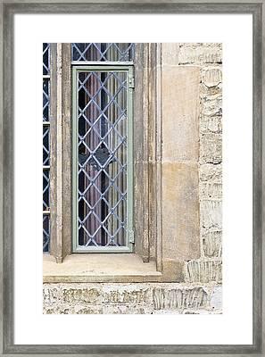 Window   Framed Print by Tom Gowanlock