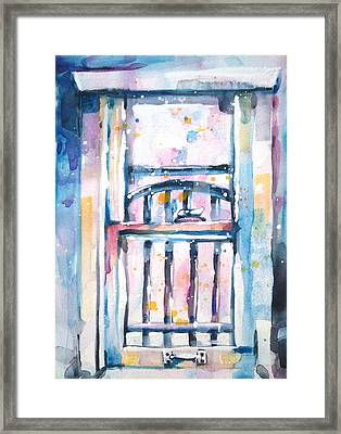 Window 1 Framed Print by Kelly Johnson