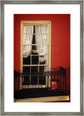 Window Access Framed Print
