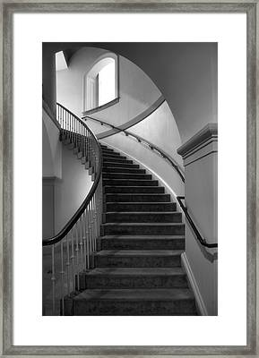Window And Stairway II Framed Print