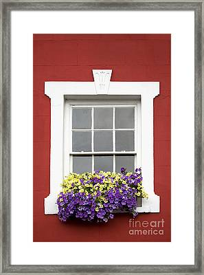 Window And Walls Triptych - Canvas 2 Framed Print by Natalie Kinnear