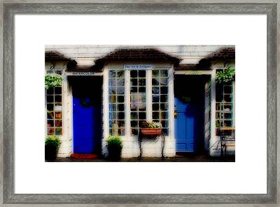 Framed Print featuring the photograph Window Art by Caroline Stella