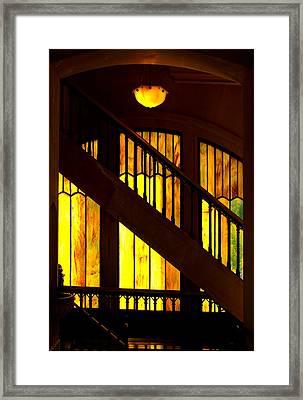 Window Art Framed Print by Dale Stillman