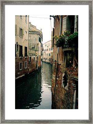 Framed Print featuring the photograph Window Box by Steve Godleski