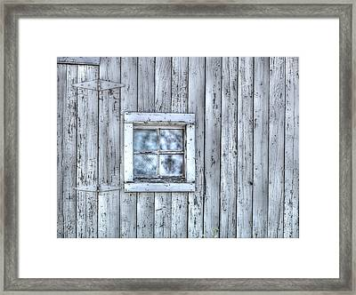 Window Framed Print by Juli Scalzi