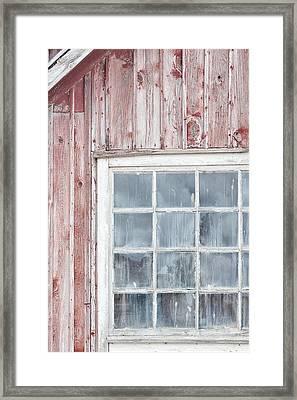 Window Framed Print by Cora Niele