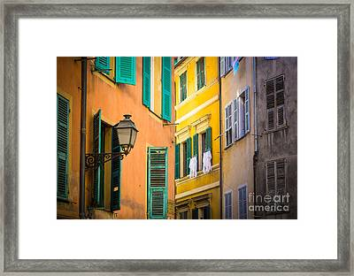 Window Cornucopia Framed Print