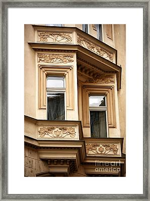 Window Dimensions Framed Print by John Rizzuto