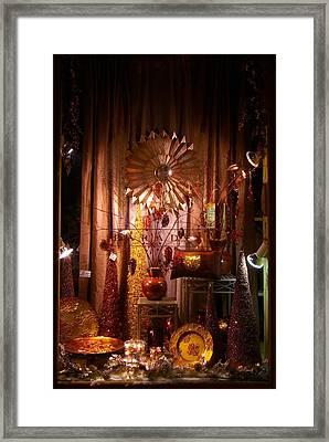 Window Display Framed Print by Paul Wash