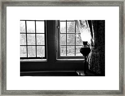 Window Framed Print by Fatemeh Azadbakht