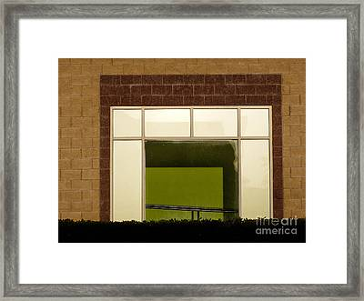 Window Frame Framed Print