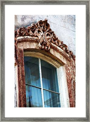 Window Frame Framed Print