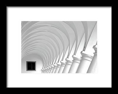 Hallway Framed Prints