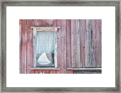 Window II Framed Print by Cora Niele