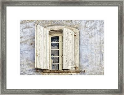Window IIi Framed Print by Cora Niele