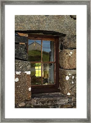 Window In Sky Framed Print