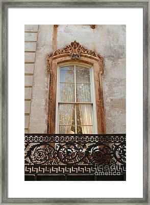 Window In Time Framed Print by Jennifer Apffel