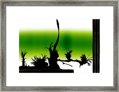 Window Framed Print by Len YewHeng