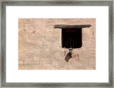 Window Of God Framed Print by Joe Kozlowski
