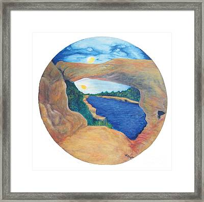 Window Of Heaven Framed Print