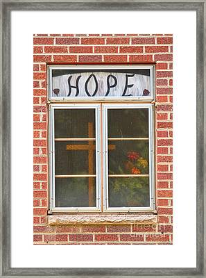 Window Of Hope 2 Framed Print by James BO  Insogna