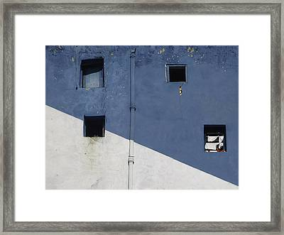 Window Of Opportunity Framed Print by A Rey
