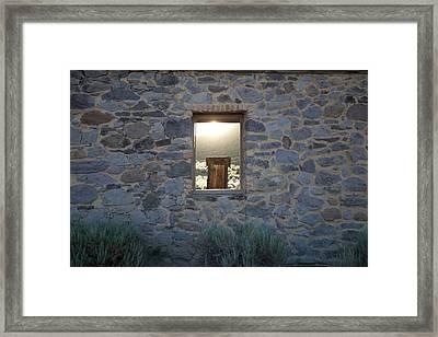 Window Of Opportunity Framed Print