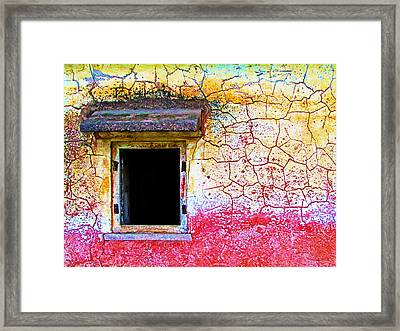 Window Of Opportunity Framed Print