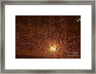Window Pain Vitoria Spain Framed Print by Ty Cook