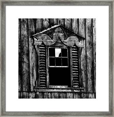 Window Pane Framed Print