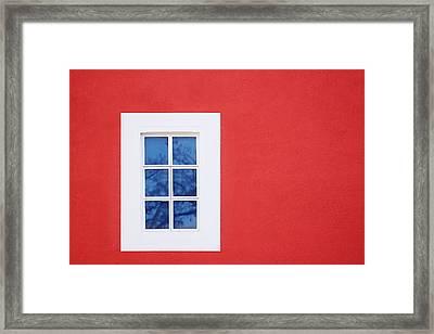 Window Piece Framed Print