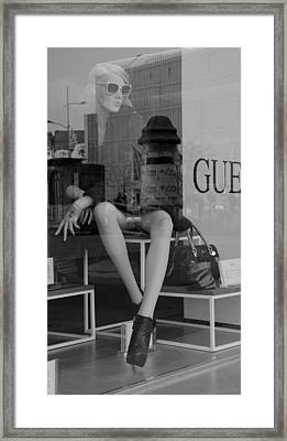 Window Resplendence Framed Print