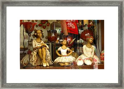 Framed Print featuring the photograph Window Shopping by Leena Pekkalainen