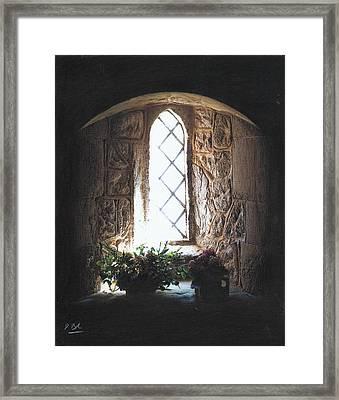 Window Solitude Framed Print by Darren Baker