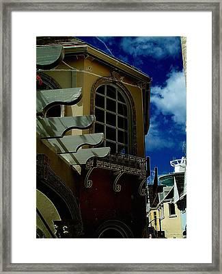 Window St Thomas Framed Print by John Holfinger