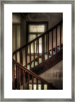 Window Stairs Framed Print by Nathan Wright