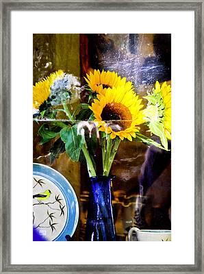 Window Still Life Framed Print by James Black