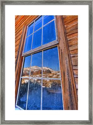 Window To Bodie Framed Print