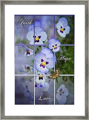 Window To Life Framed Print by Bonnie Barry